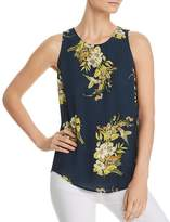 Daniel Rainn Floral and Fauna Printed Tank
