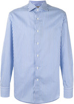 Canali striped long sleeve shirt - men - Cotton - 40