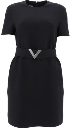 Valentino Belted Dress
