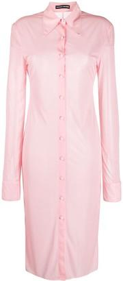Kwaidan Editions Slim-Fit Shirt Dress