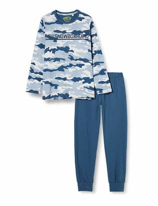 Sanetta Boy's Schlafanzug Blue Pajama Set 188