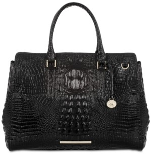 Brahmin Finley Carryall Melbourne Embossed Leather Tote