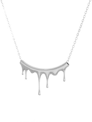 Marie June Jewelry Rivulets Silver Necklace