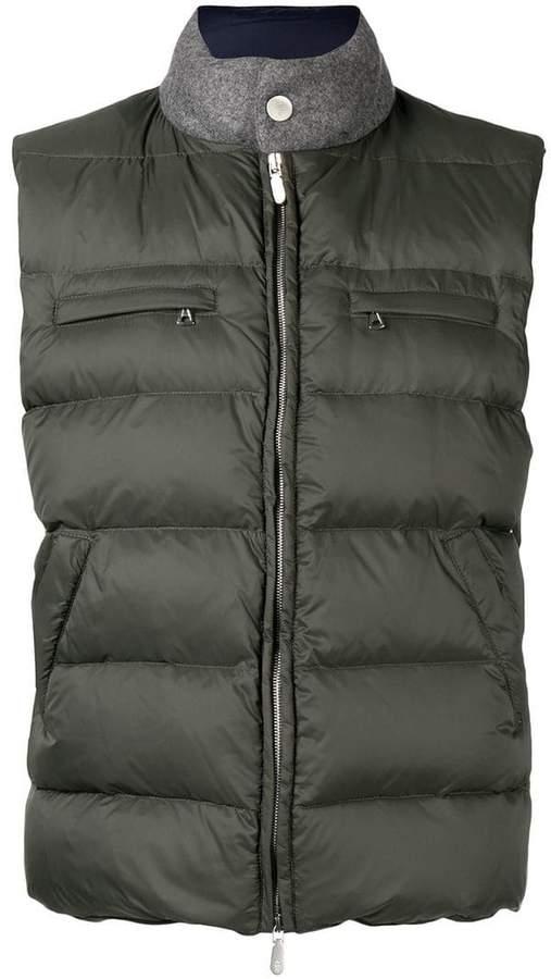 Eleventy padded vest
