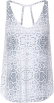 Tart Collections Ansley snake-print stretch-modal top