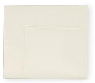 Sferra Grande Hotel Flat Sheet - Ivory Full/queen