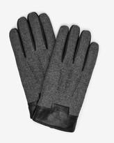 Ted Baker Mouline leather detail gloves