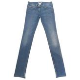 Chloé Blue Cotton - elasthane Jeans