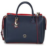 Tommy Hilfiger CHARMING TOMMY SATCHEL MARINE / Red