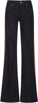 RED Valentino Flared Leg Denim Trousers
