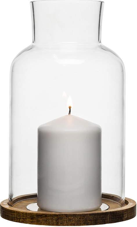 Sagaform Nature Glass Candle Holder Gift Set