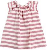 Il Gufo Striped Cotton & Linen Blend Dress