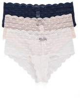 Cosabella Women's Sweet Treat 3-Pack Lace Briefs