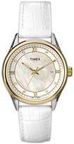 Timex 'Premium' Mother-of-Pearl Watch, 36mm