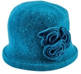 San Diego Hat Company Women's Soft Knit Cloche with Flower CTH8088