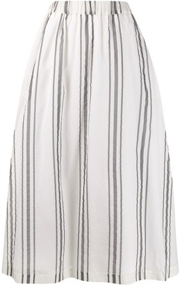 Fabiana Filippi Striped Print Skirt
