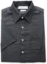 Nick Graham Everywhere Men's Dot Triangle Print Polyester Short Sleeve Dress Shirt