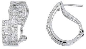 Bony Levy Amara Luxe Diamond Hoop Earrings