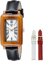 Kenneth Jay Lane Women's KJLANE-0913S-BSET Modern Analog Display Japanese Quartz Black Watch