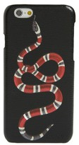Gucci Solid Snake Iphone 6 Case - Black