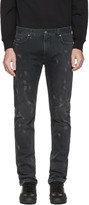 Marc Jacobs Black Distressed Jeans