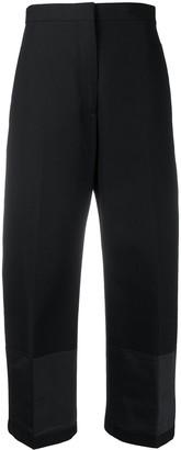 Jil Sander Cropped Straight-Leg Cotton Trousers