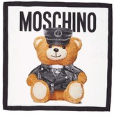 Moschino Women's 'Bear' Square Silk Scarf