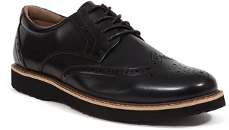 Deer Stags Walkmaster Men's Water Resistant Wingtip Dress Shoes