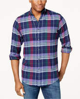 Club Room Men's Plaid Shirt, Created for Macy's