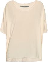 Raquel Allegra Scoop-neck oversized T-shirt