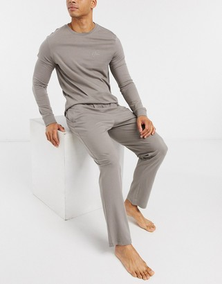 New Look trackies lounge set in grey