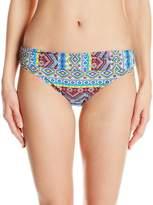 LaBlanca La Blanca Women's Tapmastery Shirred Band Hipster Bikini Bottom