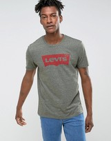 Levis Batwing T-shirt Olive Night