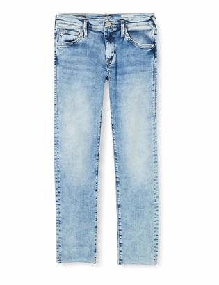 True Religion Women's Boyfriend Brocken Twill Jeans