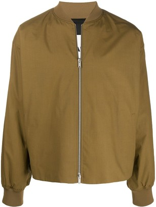 Jil Sander Relaxed-Fit Bomber Jacket