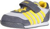 K-Swiss 23074 Whitburn VLC Running Shoe (Infant/Toddler),Grey,4 M US Toddler