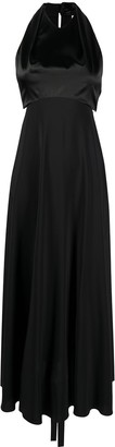 Victoria Beckham Sleeveless Silk Dress