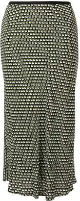 Diane von Furstenberg all-over print skirt
