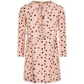 Marni MarniGirls Pink Spotted Viscose Dress