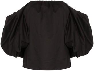 Johanna Ortiz Our Secret off-the-shoulder blouse