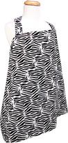 Trend Lab Black Zebra Nursing Cover