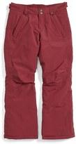 Burton Girl's 'Sweetart' Weatherproof Snow Pants