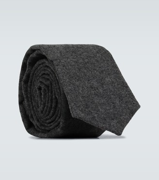 Thom Browne Wool and cashmere tie