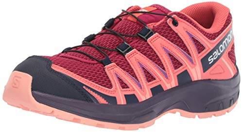 new style 36101 5e9d1 Kinder XA Pro 3D J, Trailrunning-Schuhe, Rot (Cerise/Dubarry/Peach Amber),  Größe 38