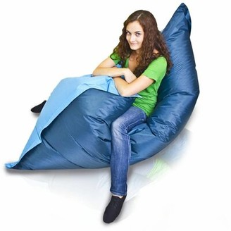 Furini Large Bean Bag Sofa Furini Upholstery: Sky / Blue