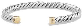 David Yurman Cable Classics Cuff Bracelet with 18K Gold