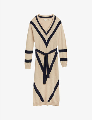 Ted Baker Berta wool-blend midi dress