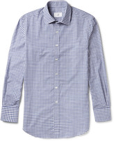 Dunhill - Slim-fit Gingham Cotton Shirt