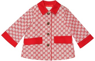 Gucci Kids GG canvas coat