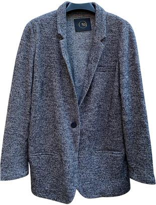 Des Petits Hauts Grey Wool Jackets